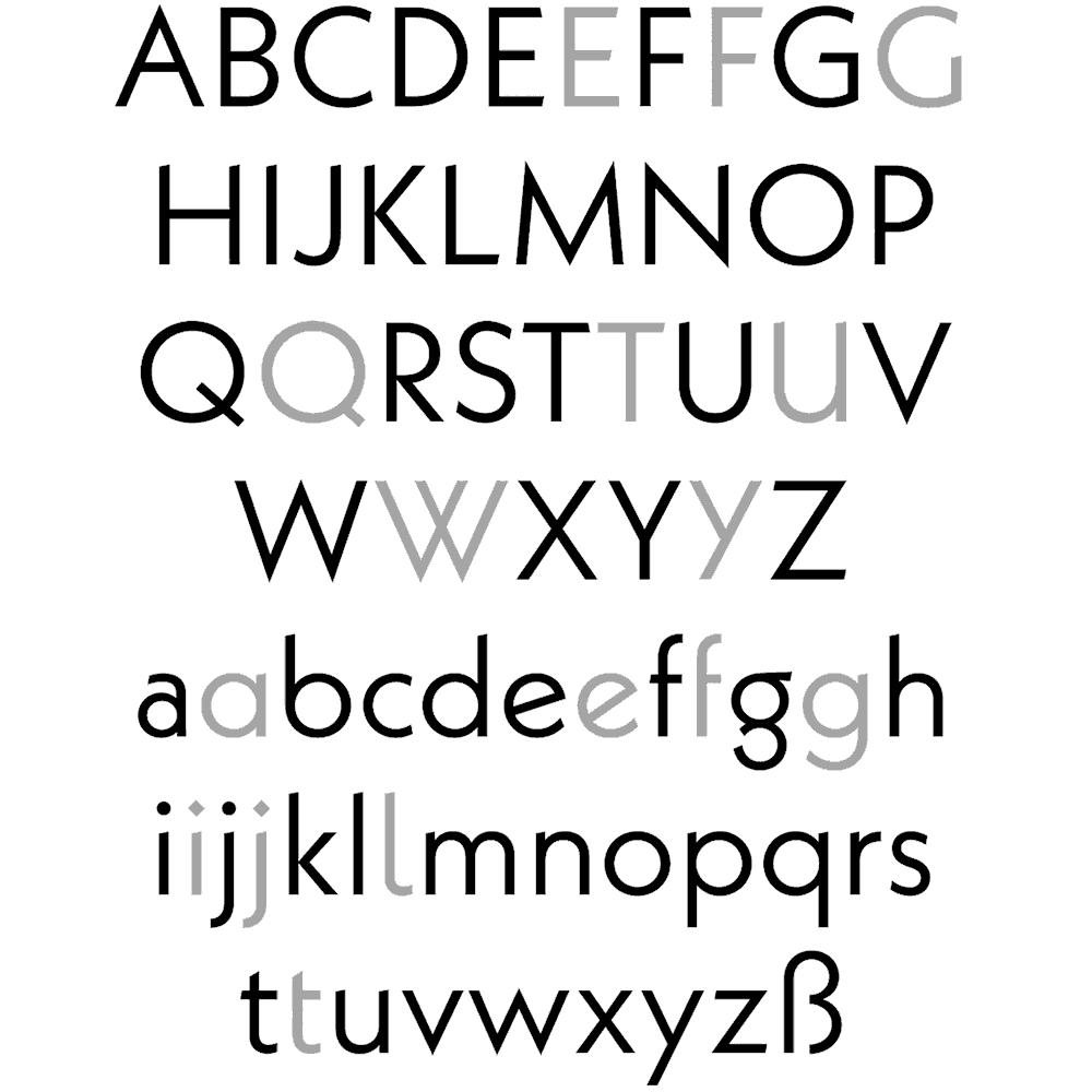 Download Kabel     [1927 - Rudolf Koch] font (typeface)