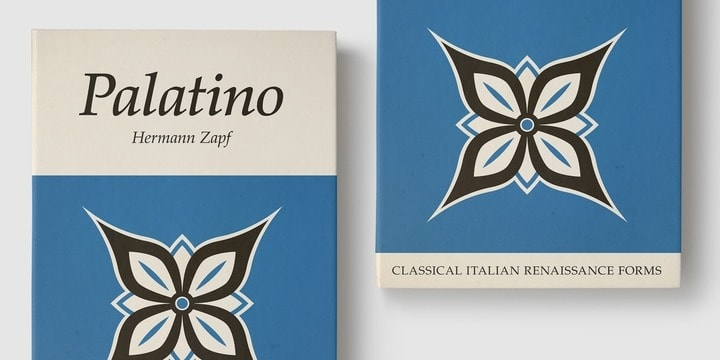 Download Palatino     [1950 - Hermann Zapf] font (typeface)