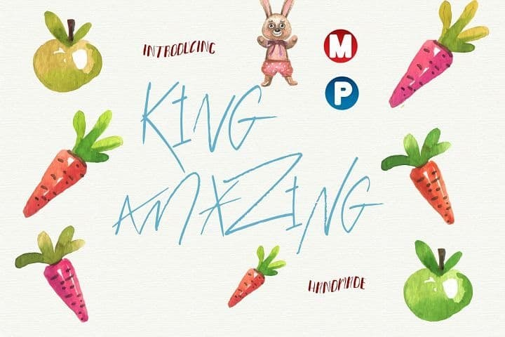 Download King Amazing font (typeface)