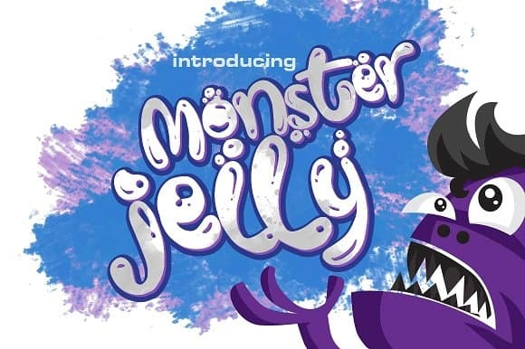 Download Monster Jelly font (typeface)