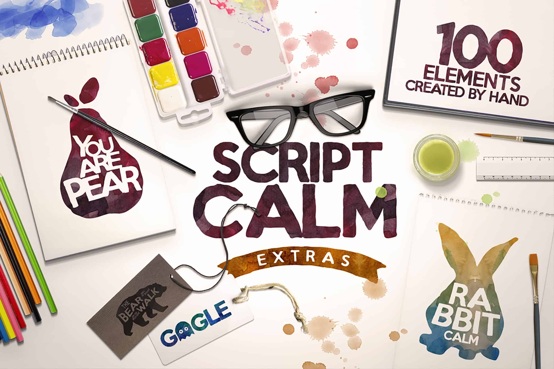 Download Script Calm font (typeface)