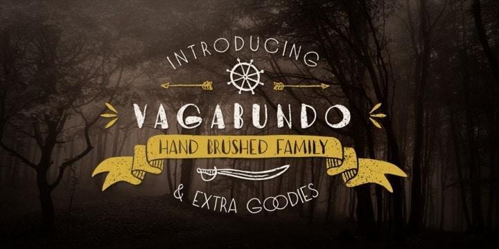 Download Vagabundo Fat font (typeface)