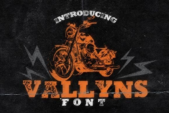 Download Vallyns Font font (typeface)
