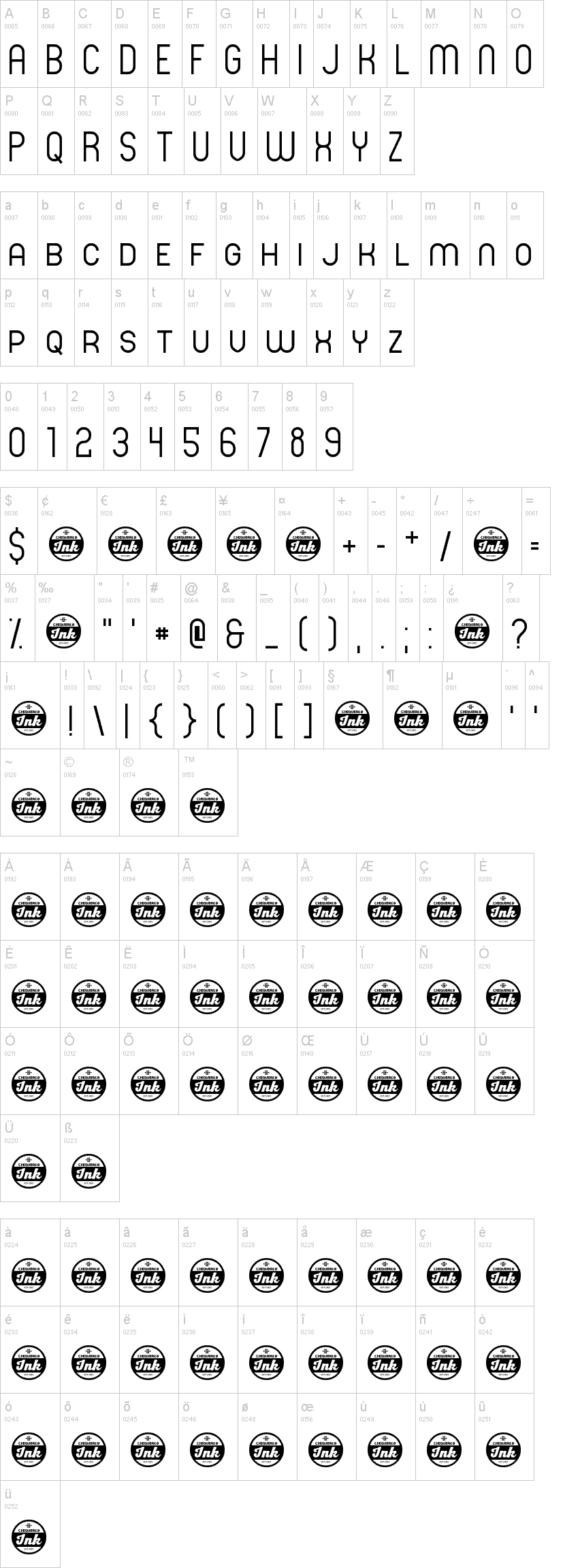 Download Chump Change font (typeface)