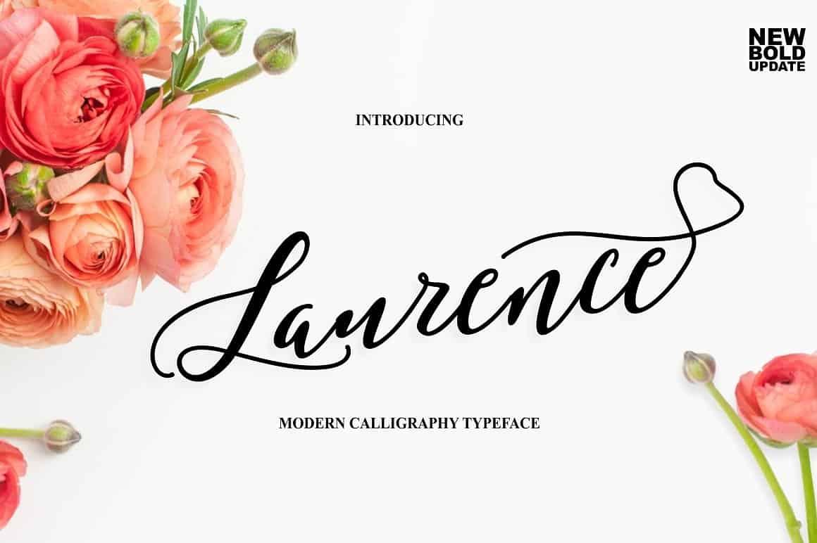 Download Laurence Script font (typeface)