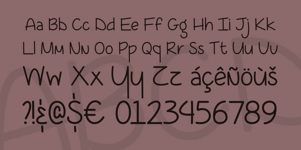 Download Coffee At Midnight font (typeface)