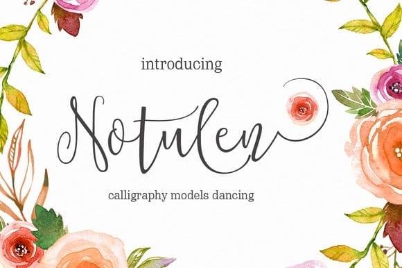 Download Notulen font (typeface)