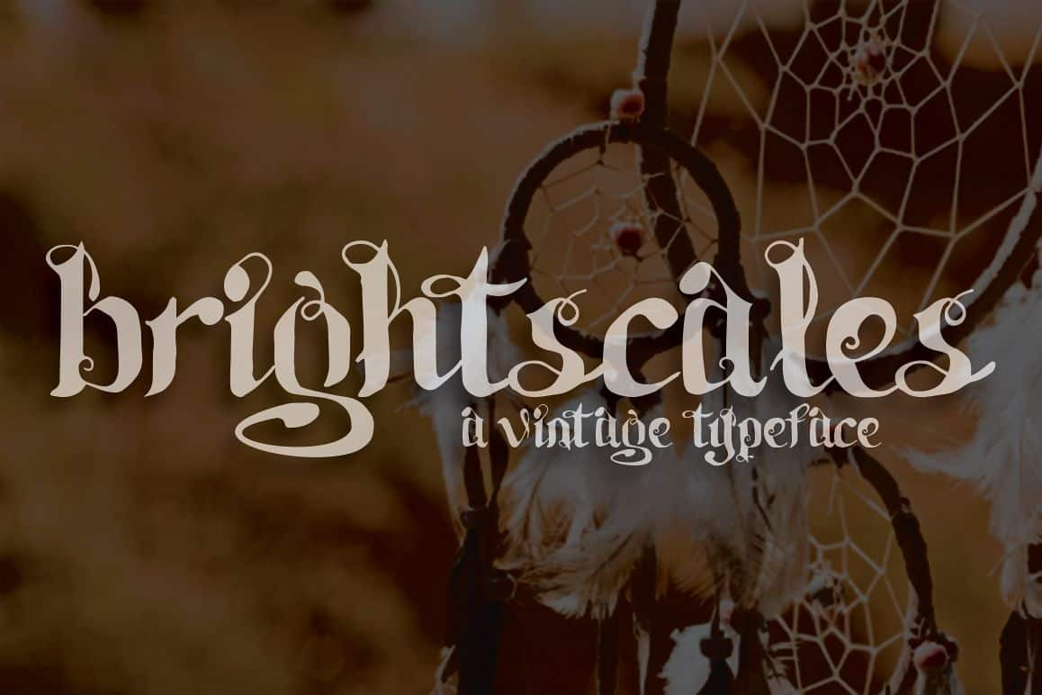 Download Brightscales font (typeface)