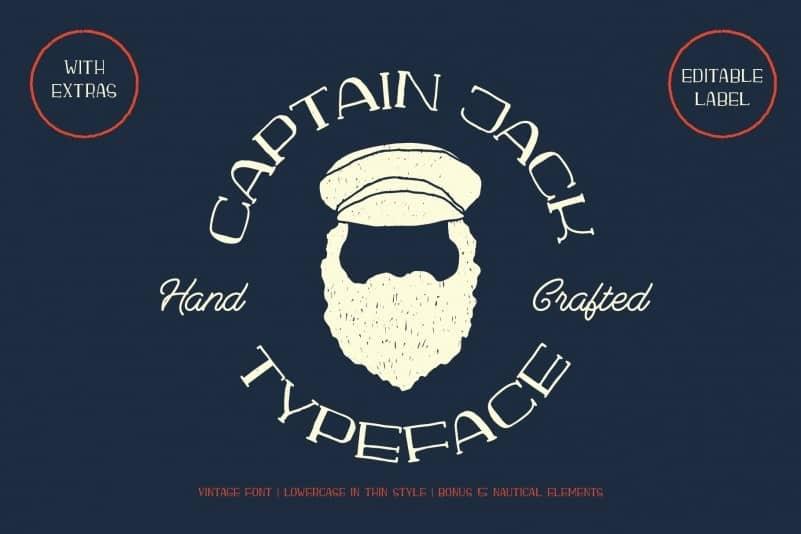 Download Captain Jack font (typeface)