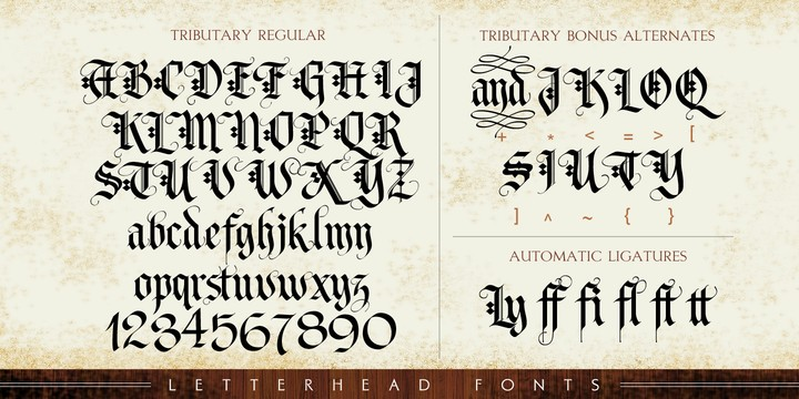 Download Letter Head font (typeface)