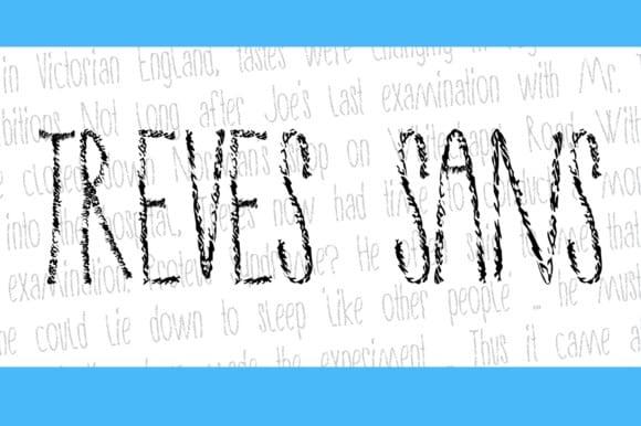 Download Treves Sans font (typeface)