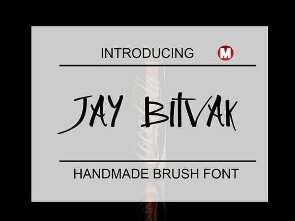 Download Jay Bitvak font (typeface)