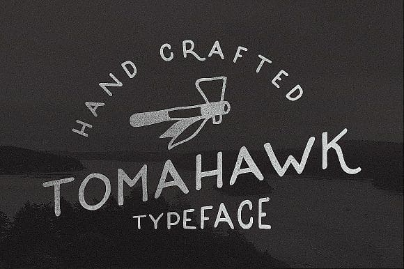 Download Tomahawk font (typeface)