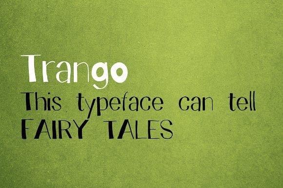 Download Trango font (typeface)