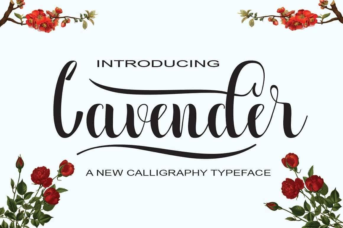 Download Lavender font (typeface)