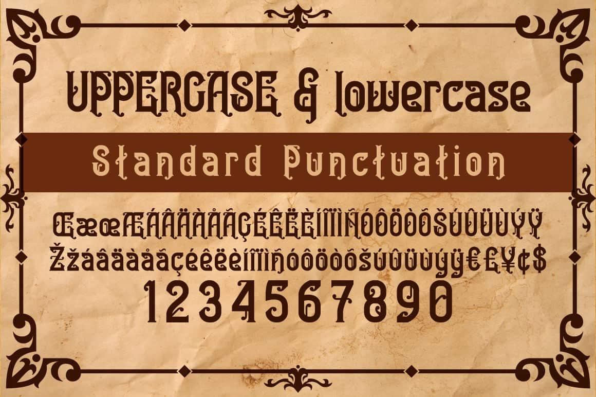 Download Bedesau font (typeface)
