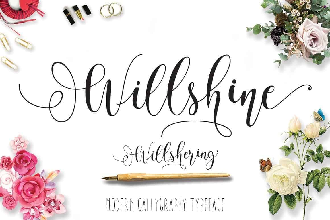 Download Will Shering Script font (typeface)
