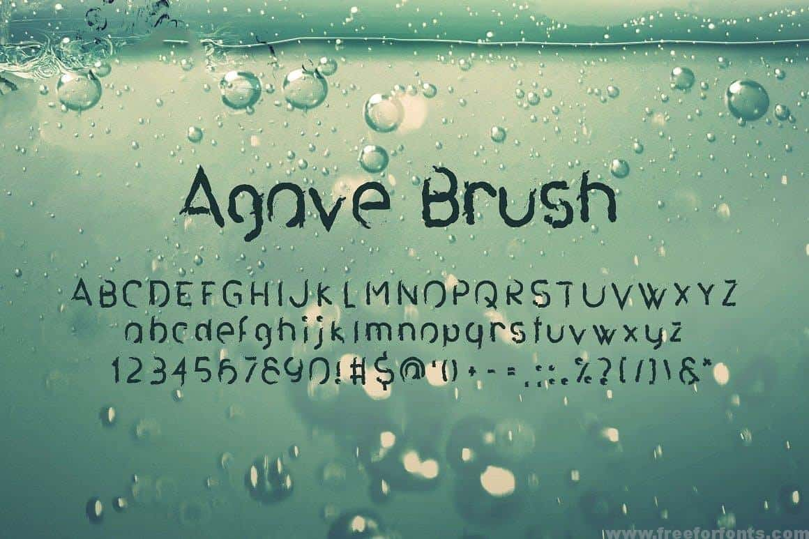 Download Agave Font Trio font (typeface)