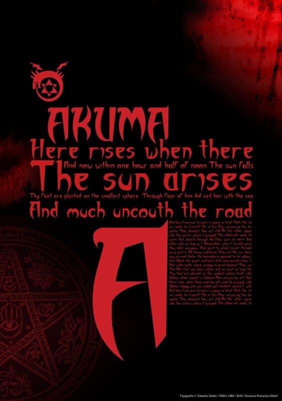 Download Akuma font (typeface)