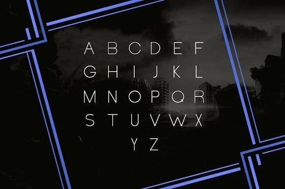 Download Henerale Light font (typeface)