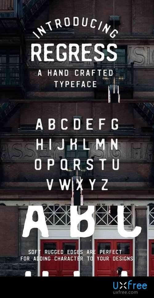 Download Regress font (typeface)
