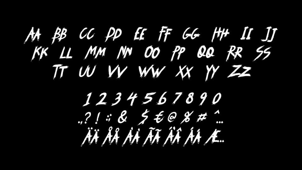 Download Syemox font (typeface)