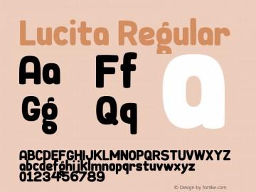 Download Lucita font (typeface)