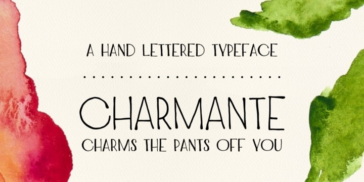 Download Charmante font (typeface)