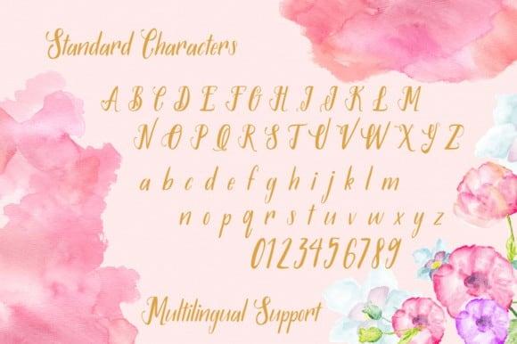 Download Syaqilla Handmade font (typeface)
