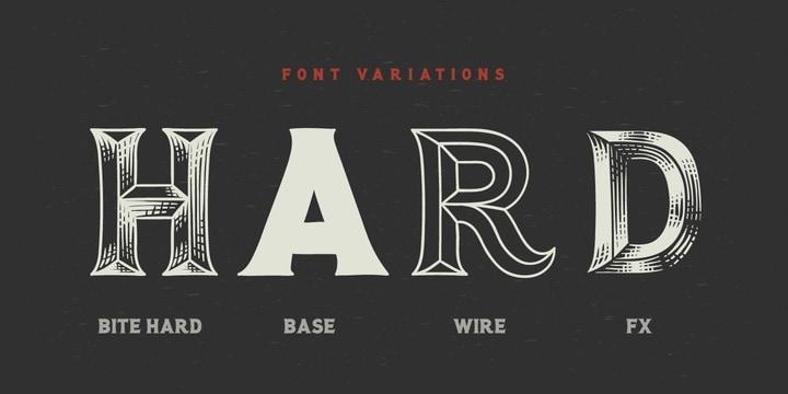 Download Bite Hard font (typeface)