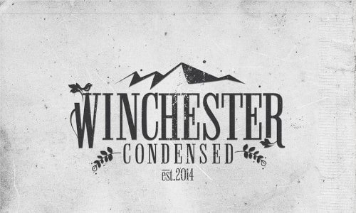 Download Winchester Condensed font (typeface)