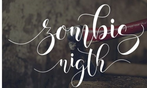 Download Zombis Night font (typeface)