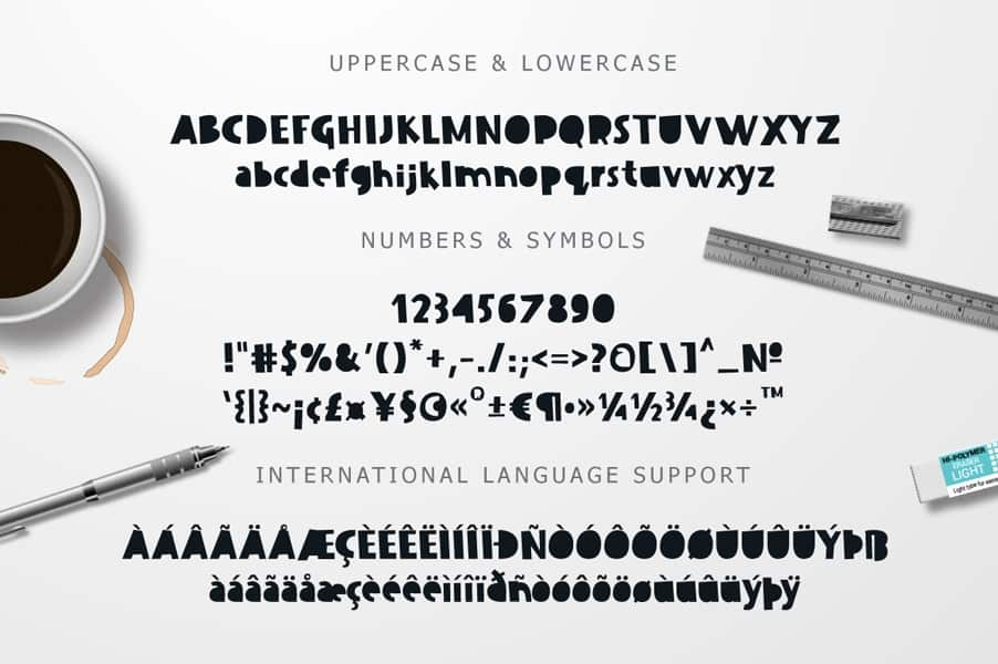 Download Dissentio font (typeface)