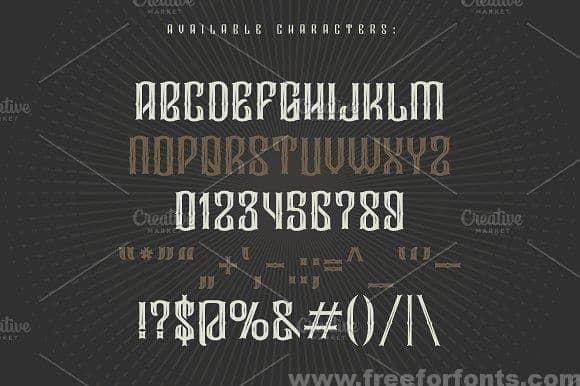 Download Droptune font (typeface)