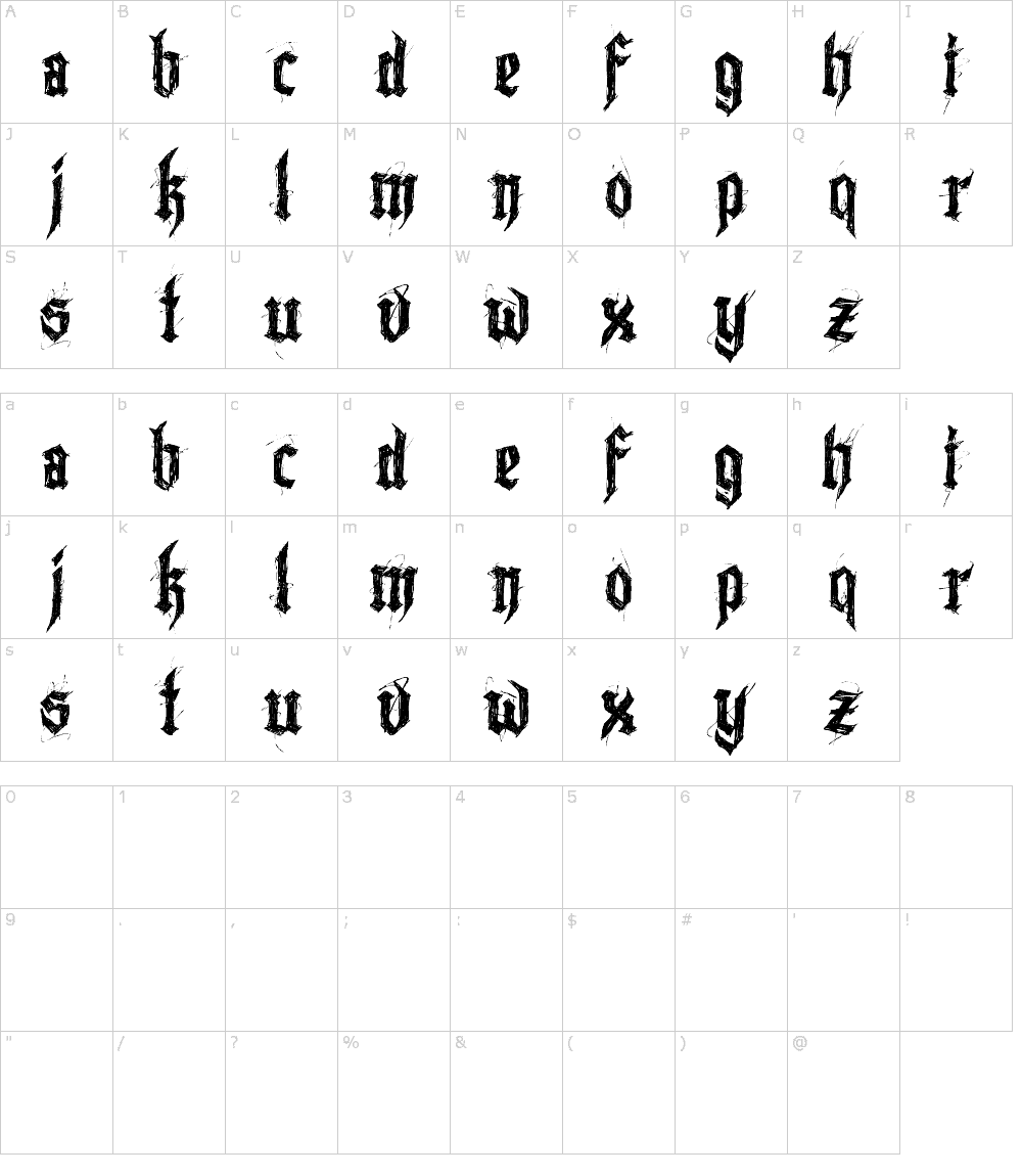 Download Lazy Monk font (typeface)