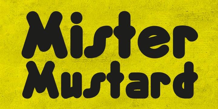 Download Mister Mustard font (typeface)