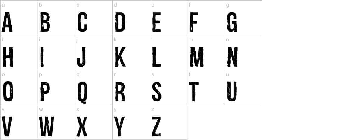 Download Redgar font (typeface)
