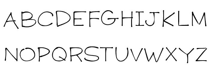 Download K26 Primrose Peach font (typeface)