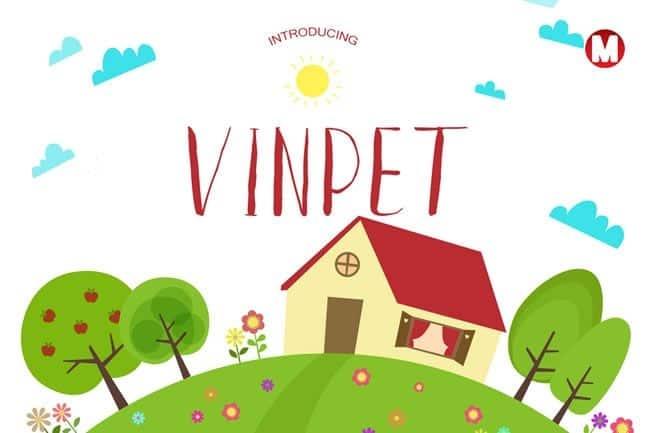 Download Vinpet font (typeface)