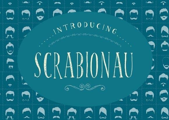 Download Scrabionau font (typeface)