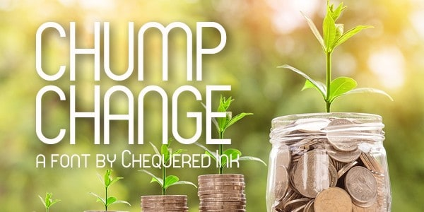 Download Chump Change font (typeface)