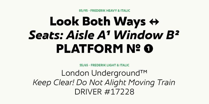 Download Frederik font (typeface)
