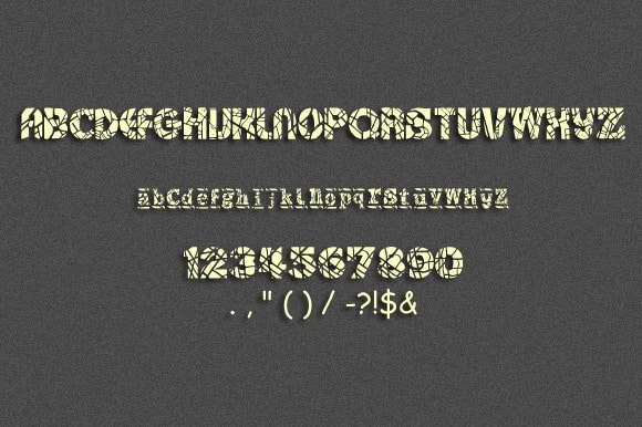 Download Cacings font (typeface)