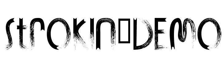 Download Strokin font (typeface)