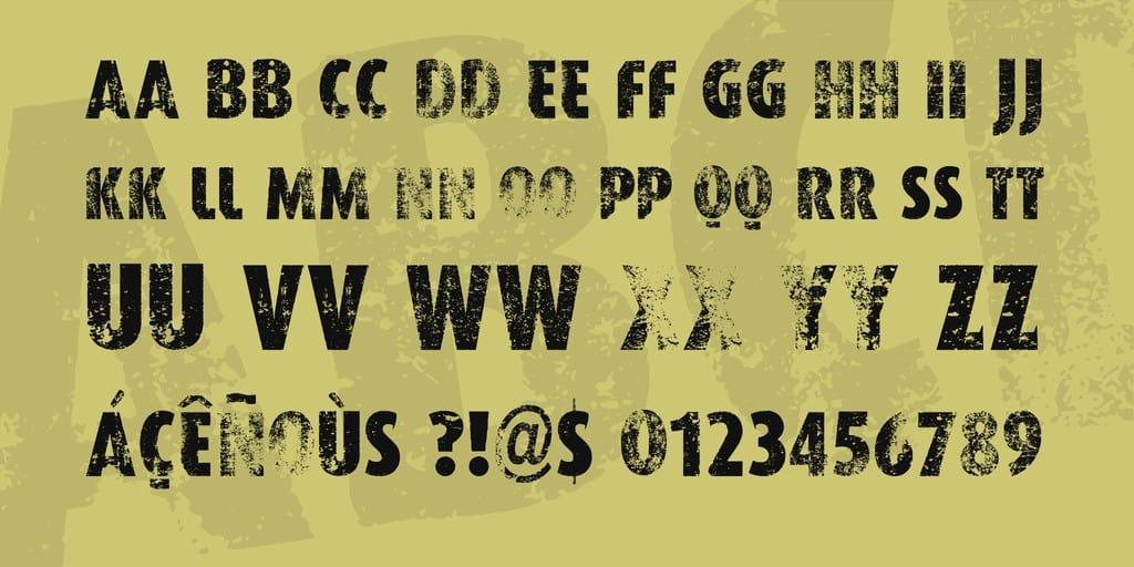 Download VTKS Worker font (typeface)