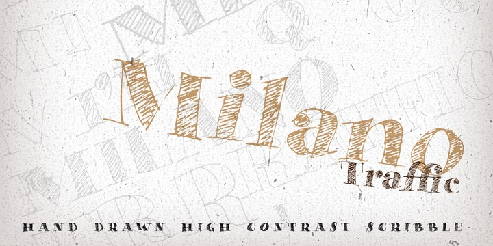 Download Milano Traffic font (typeface)