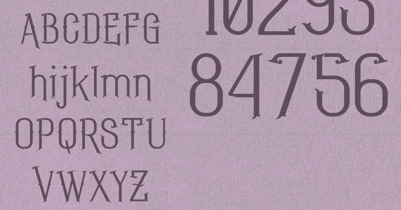 Download Geroboktuo font (typeface)