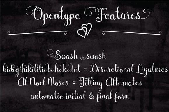 Download Wedding FontItalic font (typeface)