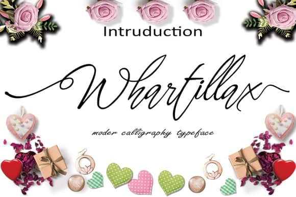 Download Whartillax font (typeface)