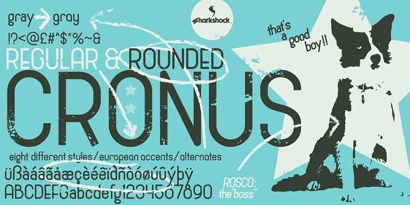 Download Cronus font (typeface)